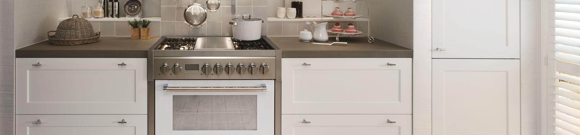 תנור משולב כיריים STEEL דגם GENESI 90