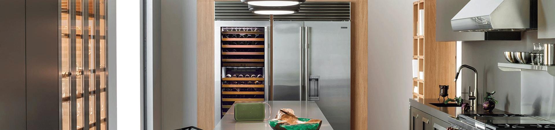 מקרר דלת ליד דלת SUB ZERO דגם BI 42SD