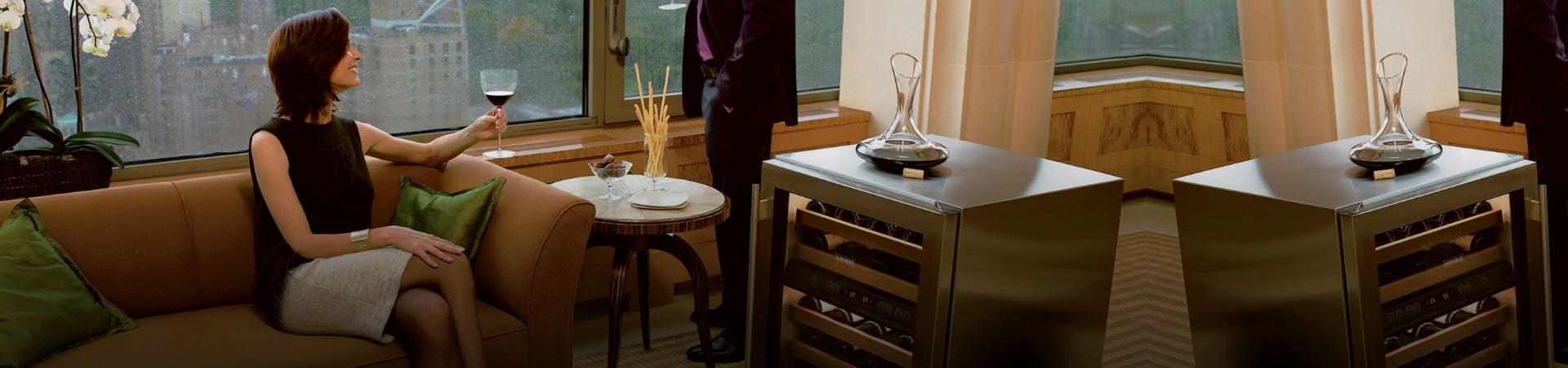 מקרר יין SUB ZERO FREESTANDING דגם ICB424G